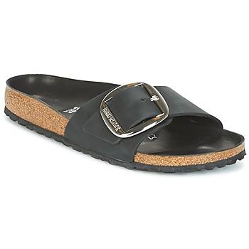 Shoes Women Mules Birkenstock MADRID BIG BUCKLE Black / MATT
