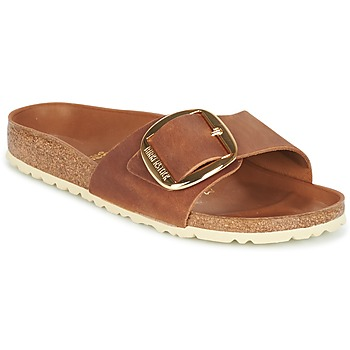 Shoes Women Mules Birkenstock MADRID BIG BUCKLE Brown