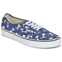 Shoes Low top trainers Vans AUTHENTIC SNOOPY Blue / White