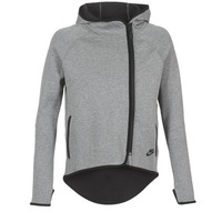 material Women sweatpants Nike TECH FLEECE CAPE FZ Grey