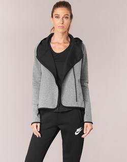 material Women sweatpants Nike TECH FLEECE CAPE FZ Grey