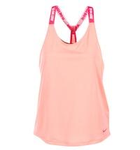 material Women Tops / Sleeveless T-shirts Nike NIKE DRY TANK ELASTIKA Pink / Red