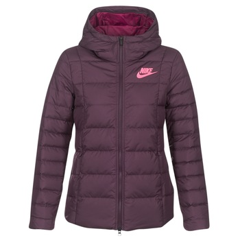 material Women Duffel coats Nike DOWN FILL JKT Bordeaux / Pink
