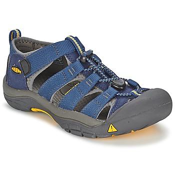 Shoes Boy Sports sandals Keen KIDS NEWPORT H2 Blue / Grey