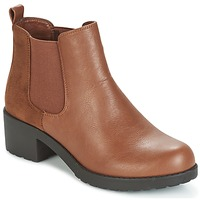 Shoes Women Ankle boots Moony Mood GLOVILA CAMEL