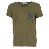 material Men short-sleeved t-shirts Eleven Paris ABICO KAKI