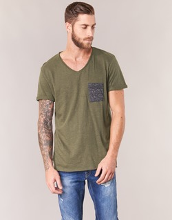 material Men short-sleeved t-shirts Eleven Paris ABICO Kaki