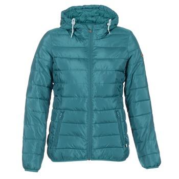 material Women Duffel coats Roxy FOREVER FREELY Blue / Petrol