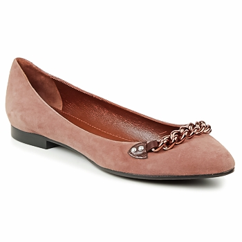 Shoes Women Ballerinas Marc Jacobs CHAIN BABIES Brown