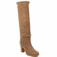 Shoes Women Boots Veronique Branquinho MERINOS Brown