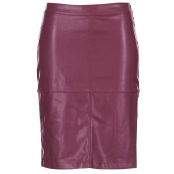 material Women Skirts Vila VIPEN BORDEAUX