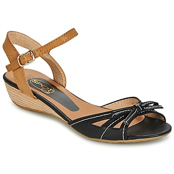 Shoes Women Sandals Spot on   BLACK