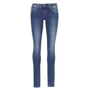 material Women slim jeans Pepe jeans SOHO Z63 / Blue / MEDIUM