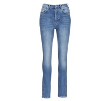 material Women slim jeans Pepe jeans GLADIS Ga7 / Blue / Clear