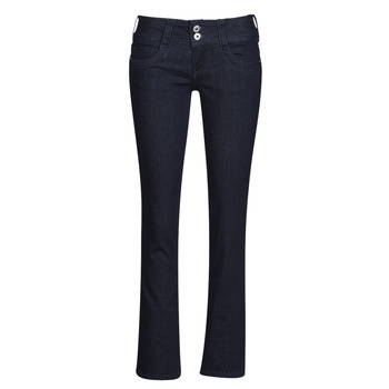 material Women straight jeans Pepe jeans GEN Blue / M15