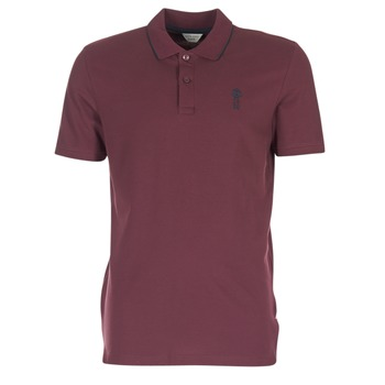 material Men short-sleeved polo shirts Jack & Jones STONE CORE Bordeaux