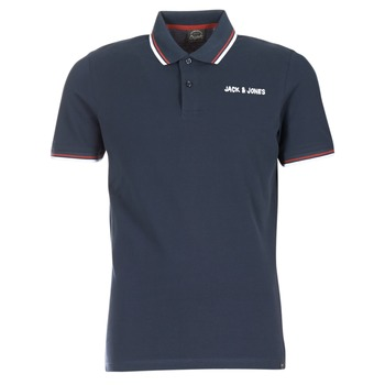 material Men short-sleeved polo shirts Jack & Jones WAZ ORIGINALS Marine
