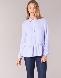 material Women Blouses Betty London IHALONI Blue