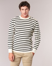 material Men jumpers Armor Lux GROIM White / Marine