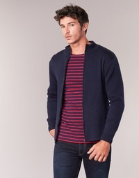 material Men Jackets / Cardigans Armor Lux MARCHA Marine