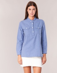 material Women Shirts Armor Lux GRICHA Blue