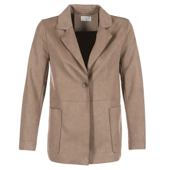 material Women coats Casual Attitude HAUPE Taupe