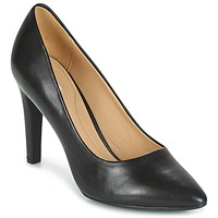 Shoes Women Court shoes Geox D CAROLINE C - NAPPA Black
