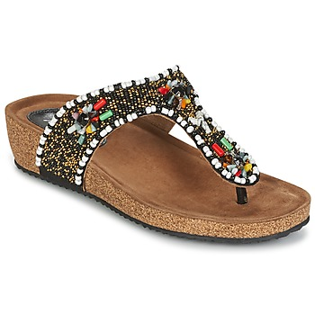 Shoes Women Sandals Metamorf'Ose ZABUSTE Black / Multicoloured