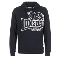 material Men sweaters Lonsdale TADLEY Black