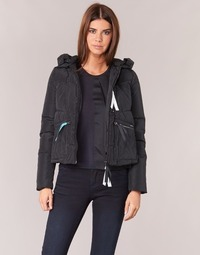 material Women Duffel coats Armani jeans JIORM Black