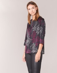 material Women Blouses Armani jeans DRENIZ Black