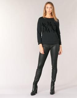 material Women Skinny jeans Armani jeans BABEZ Black