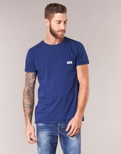 material Men short-sleeved t-shirts Scotch & Soda JURISCU Marine