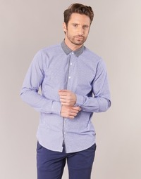 material Men long-sleeved shirts Scotch & Soda JILLA Blue