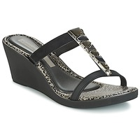 Shoes Women Sandals Grendha JEWEL PLAT FEM Black