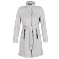 material Women coats Vero Moda PRATO Grey