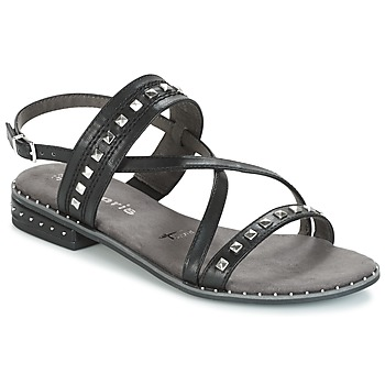 Shoes Women Sandals Tamaris   BLACK