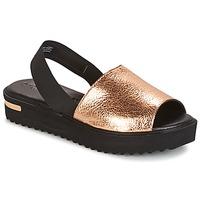 Shoes Women Sandals Tamaris  Black / Gold