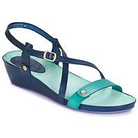 Shoes Women Sandals Kickers TASTE Marine / Blue / Lagoon