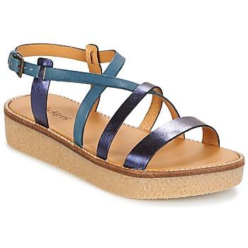 Shoes Women Sandals Kickers VALENTINA Blue