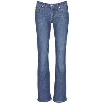 material Women bootcut jeans Betty London IHEKIKKOU BOOTCUT Blue / Medium