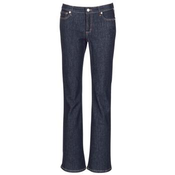 material Women bootcut jeans Yurban IHEKIKOU BOOTCUT Blue