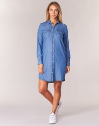 material Women Short Dresses Yurban HEBELLA Blue