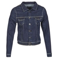 material Women Denim jackets Yurban HELEFI Blue / MEDIUM