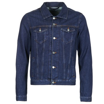 material Men Denim jackets Yurban IHEDEM Blue / Raw