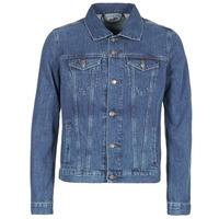 material Men Denim jackets Yurban HEDEM Blue / Medium