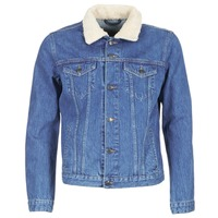 material Men Denim jackets Yurban IHEDEM Blue / Medium