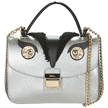 Bags Women Shoulder bags Furla CANDY TWEET SUGAR MINICROSSBODY Silver