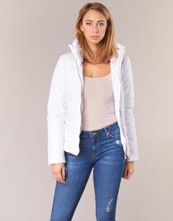 material Women Duffel coats Only BROOKE White