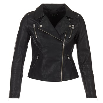material Women Leather jackets / Imitation le Only MADDY Black